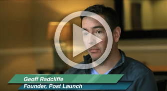 Geoff Radcliff, Founder of Post Launch